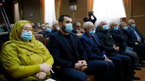Госсекретарь Дагестана  Хизри Абакаров встретился с жителями Докузпаринского района