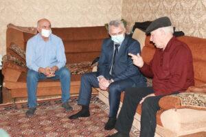 Магомедали Тагиров встретился с бывшим первым секретарем Гергебильского райкома КПСС