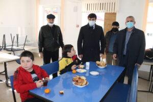 Магомедали Тагиров с рабочим визитом посетил детский сад «Малыш» и Гергебильскую школу № 2.