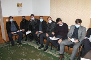 Обсуждение комплекса мероприятий по снижению потерь и повышению надежности обсудили в Гергебильском районе