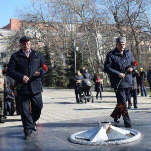 В Дагестане почтили память павших защитников отечества