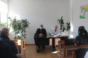 Спонсорскую помощь оказали Гергебильской ЦРБ