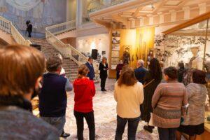 Выставка Кайтагской вышивки XVIII века впервые проходит в Российском этнографическом музее Санкт-Петербурга