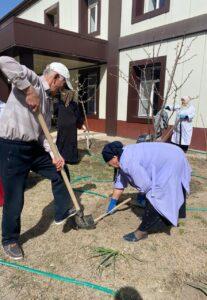 Общерайонную экологическую акцию провели в Гергебильском районе