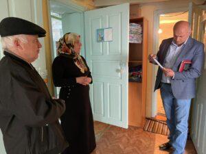Председатель Собрания депутатов Гергебильского района провел прием граждан в селах Хвартикуни и Могох