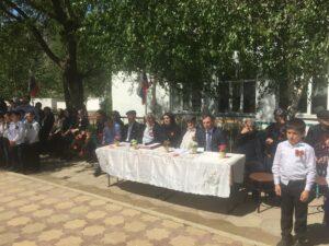 Праздничное мероприятие, посвященное 76-ой годовщине со дня Победы,  провели в Курминской школе-интернат