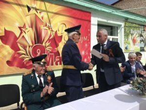 В Гергебильском районе состоялся торжественный митинг, посвященный 76-й годовщине со дня Победы в Великой Отечественной войне