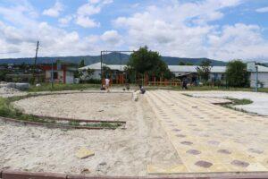 В  селах Кайтагского района идет реализация проекта «Формирование комфортной городской среды»