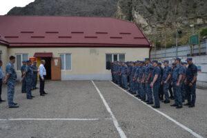 Глава Гергебильского района посетил КПП «Красный мост»