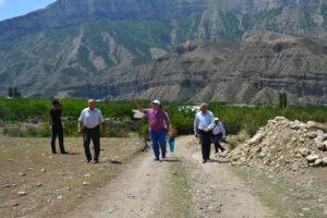 Абдулмуслим Абдулмуслимов и Баттал Батталов с рабочим визитом посетил Гергебильский район