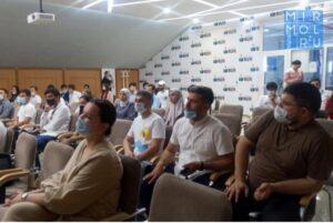 Дагестанцы встретились с председателем «Союза добровольцев России» Яной Лантратовой
